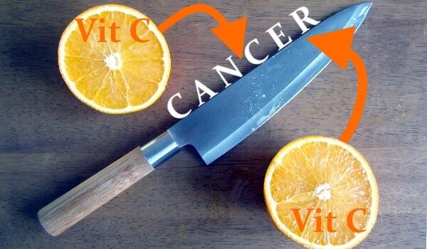 la vitamine C ou l'acide ascorbique guérir cancers et maladie mythe et réalité traitements aide thérapie